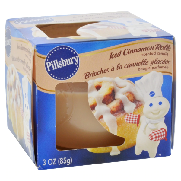 Pillsbury Iced Cinnamon Rolls Scented Candle