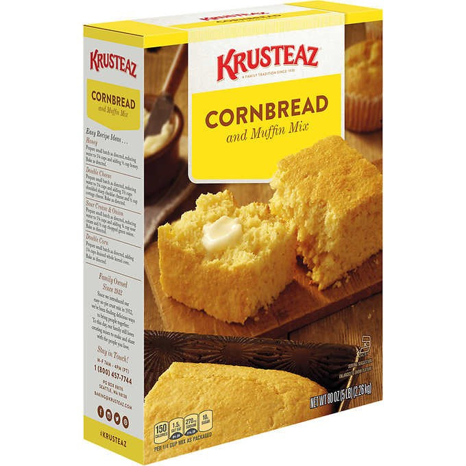 Krusteaz Cornbread & Muffin Mix 5lb
