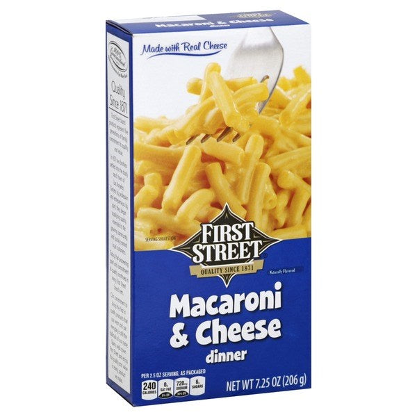 First Street Macaroni & Cheese Dinner 7.25oz