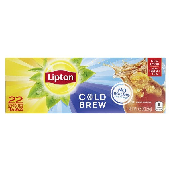 Lipton Cold Brew Tea Bags