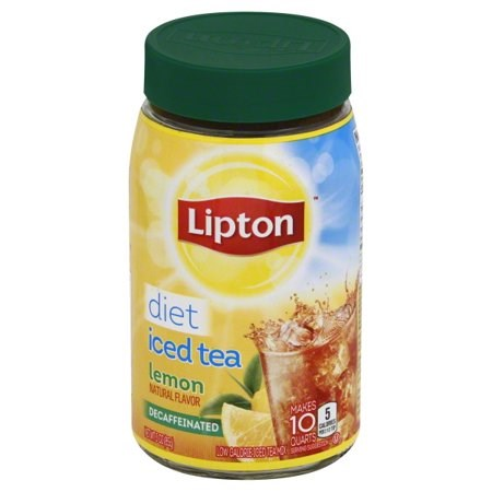 Lipton Lemon Diet Iced Tea Mix 3oz
