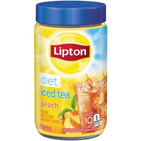 Lipton Peach Diet Iced Tea Mix