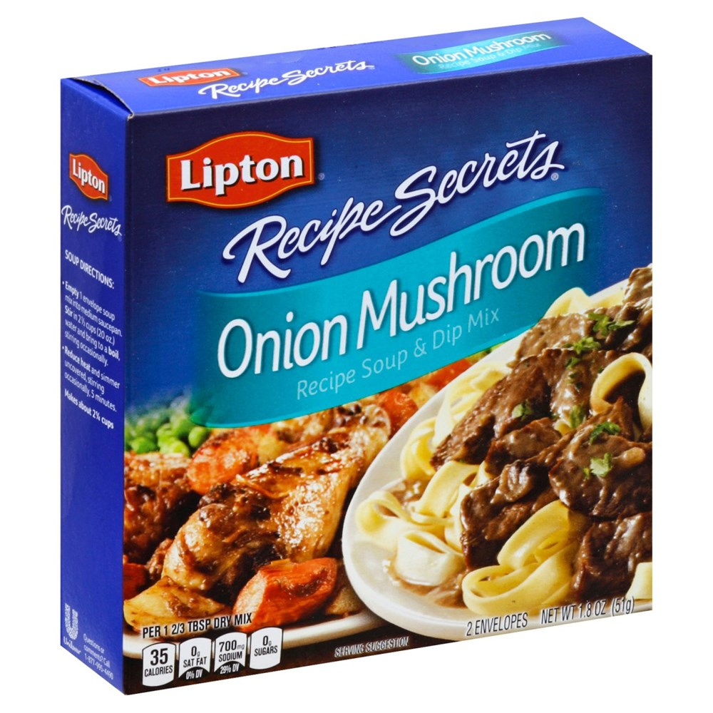 Lipton Recipe Secrets Onion Mushroom Soup Mix 2ct