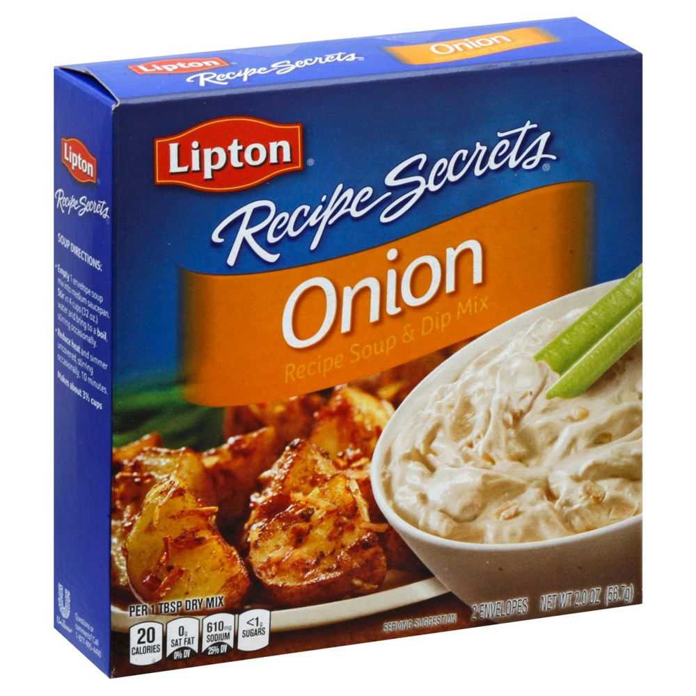 Lipton Recipe Secrets Onion Recipe Soup & Dip Mix 2ct