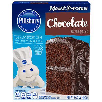 Pillsbury Moist Supreme Chocolate Premium Cake Mix