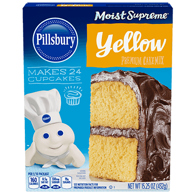 Pillsbury Moist Supreme Yellow Premium Cake Mix
