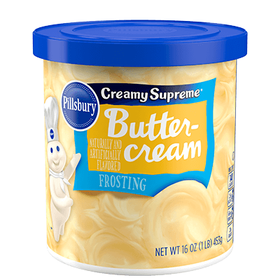 Pillsbury Creamy Supreme Buttercream Flavored Frosting 16oz