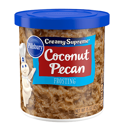 Pillsbury Creamy Supreme Coconut Pecan Flavored Frosting 15oz
