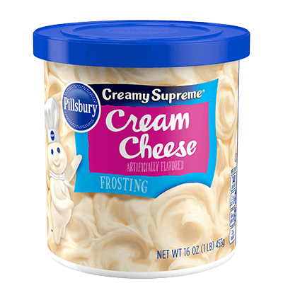 Pillsbury Creamy Supreme Cream Cheese Flavored  Frosting 16oz