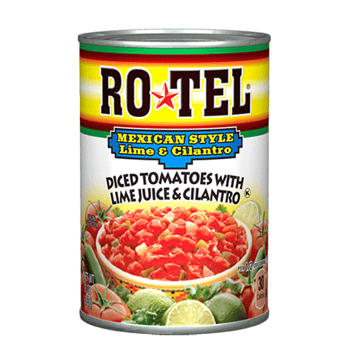 Rotel Diced Tomatoes Mexican Style