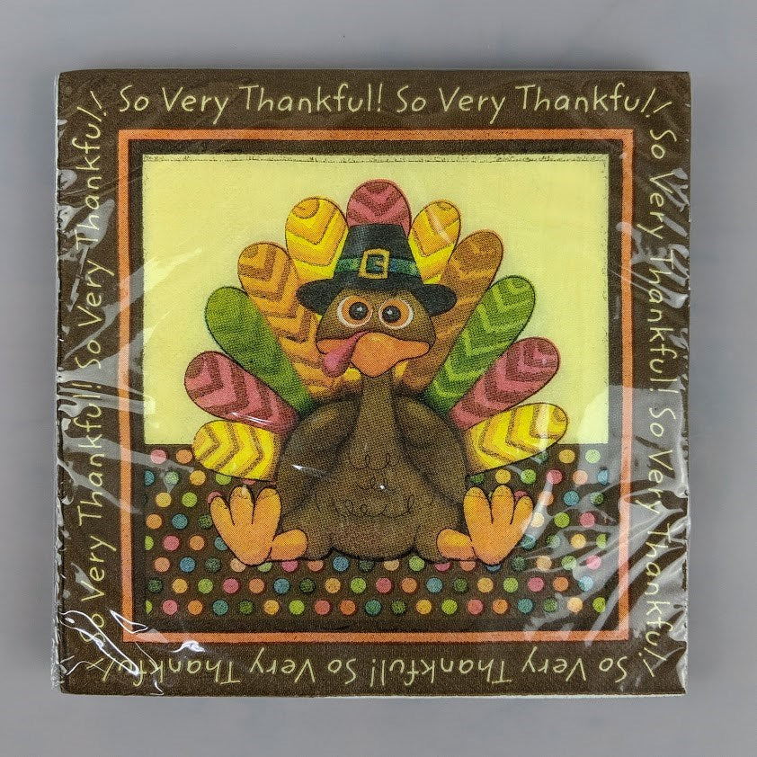 Thanksgiving Square Paper Goods