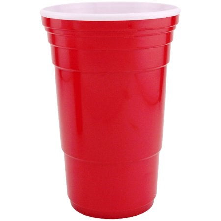 Re-Usable Red Cups