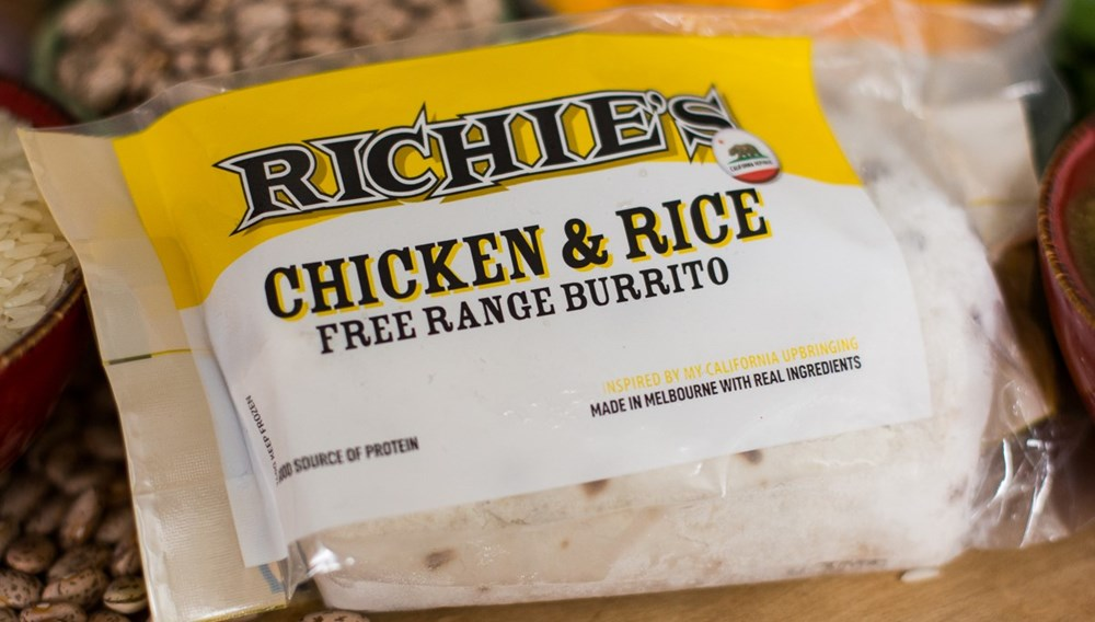 Richie's Chicken & Rice Free Range Burrito [Pick Up ONLY]