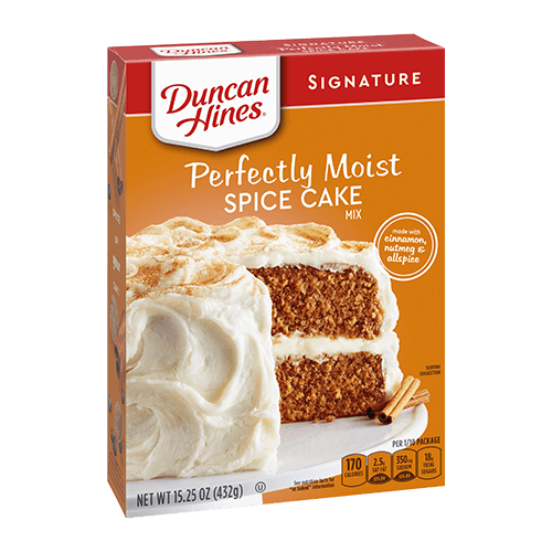 Duncan Hines Signature Perfectly Moist Spice Cake Mix 15.25oz