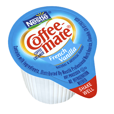 Coffee-Mate French Vanilla Liquid Creamer Singles