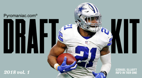 2018 Fantasy Football Draft Kit Volume 1 by Pyromaniac.com (06/18/18)