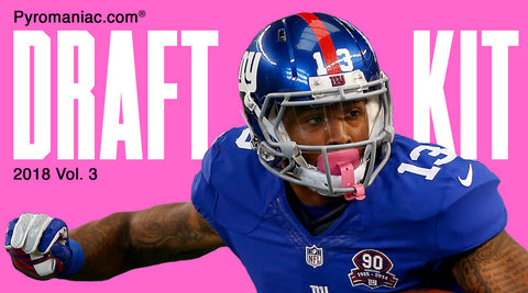 2018 Fantasy Football Draft Kit Volume 3 by Pyromaniac.com (08/18/18)