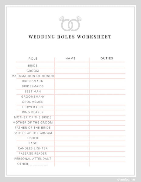 ¡Wedding planner la ultima lista!