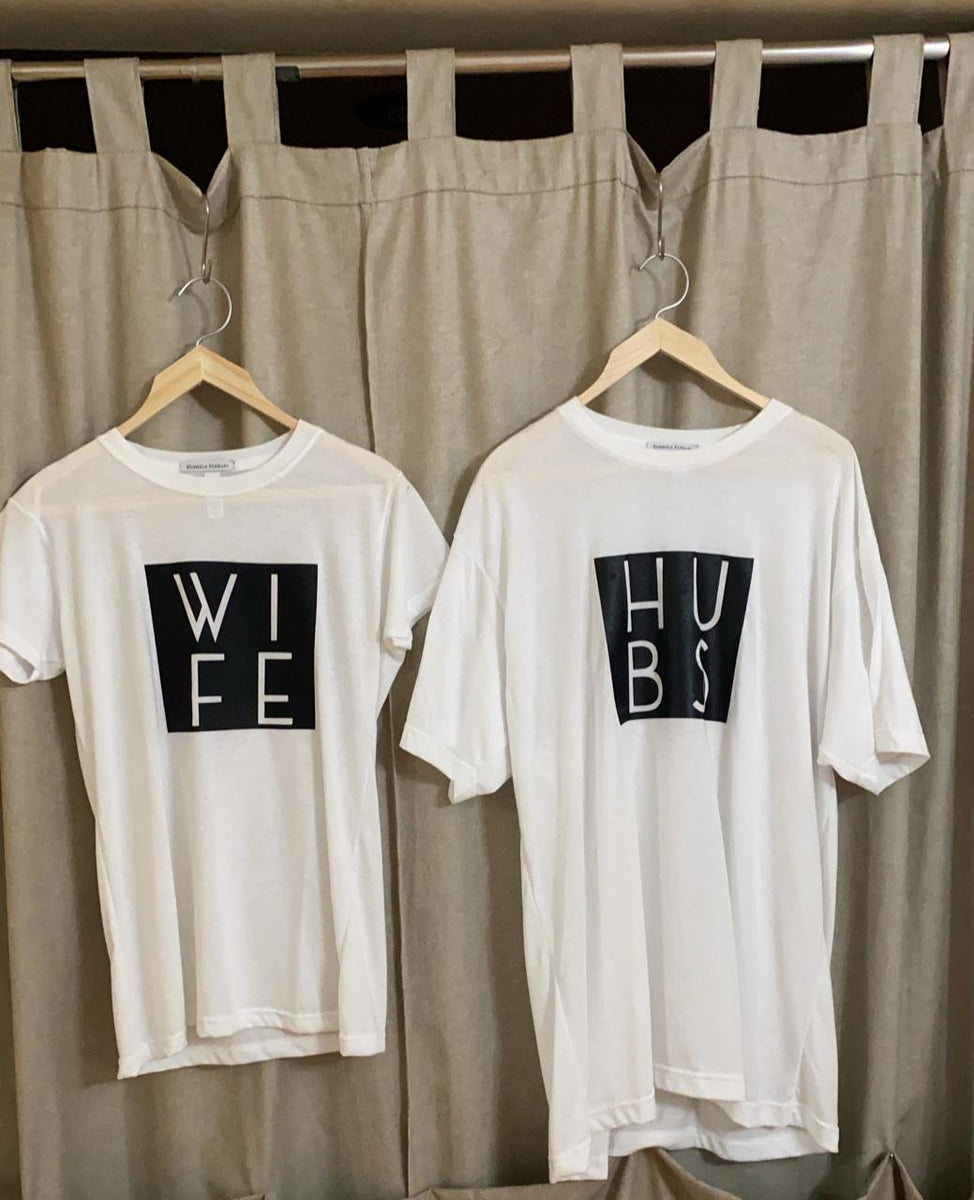 T-SHIRT HUBS ❤️  WIFE SQUARE
