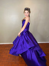Valentina purple Pret a couture