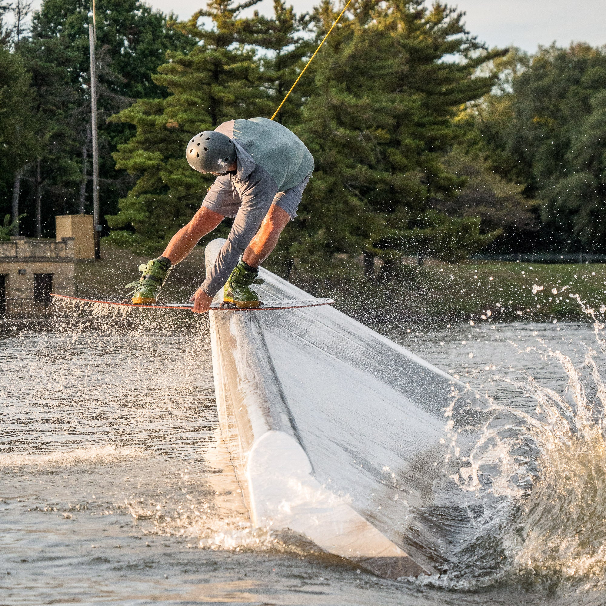 West Rock Wake Park's Full Size Cable
