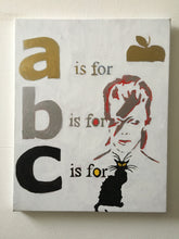 Load image into Gallery viewer, Pressed Gang B is for Bowie card - Pressed Gang