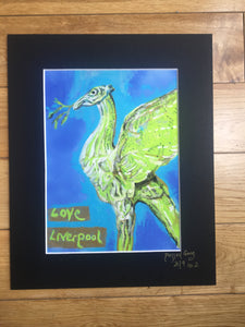 Love Liverpool Print by Pressed Gang - Pressed Gang
