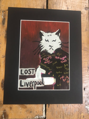 Lost Liverpool print by Pressed Gang - Pressed Gang