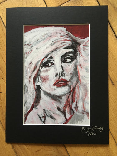 Debbie Harry Print - Pressed Gang