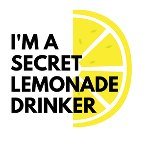 Pressed Gang Secret Lemonade Drinker card - Pressed Gang