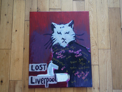 Pressed Gang Lost Liverpool painting - Pressed Gang