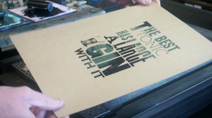 SmallPrint Company  'The Best Tonic' print - Pressed Gang