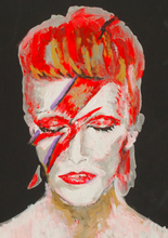 Load image into Gallery viewer, Pressed Gang Print of Bowie Painting - Pressed Gang