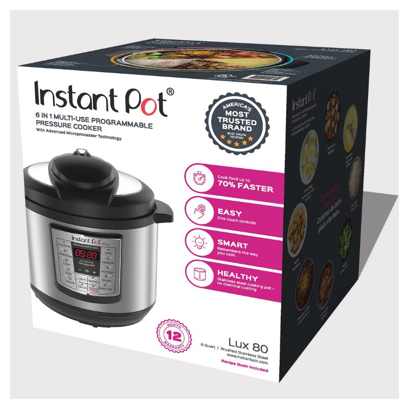 Five+ Reasons to Break Out Your New Instant Pot (ie Don't Be Afraid Of It!)