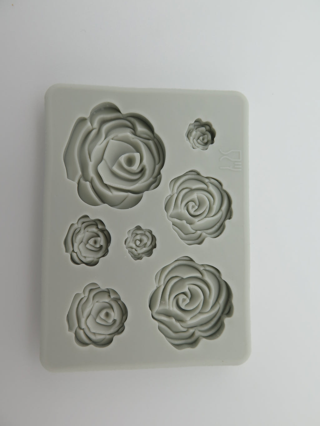 Rose Silicone Fondant Mold for Cake Decorating