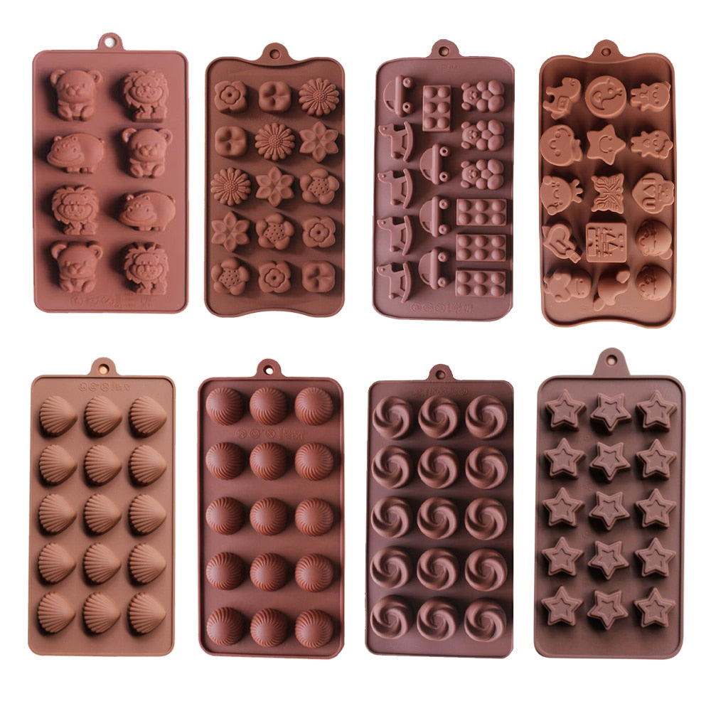 Silicone Molds for Chocolates/Candies/Soaps
