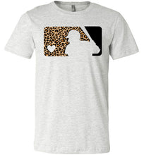 Load image into Gallery viewer, Love Baseball Leopard Edition Tee