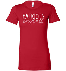 Patriots Thin Script Ladies Favorite Tee