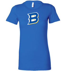 Bullets B Outline Ladies Tee