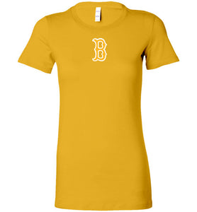 Beaumont Bruins Logo Ladies Fit Tee