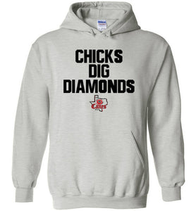 TCE Chicks Dig Diamonds Hoodie