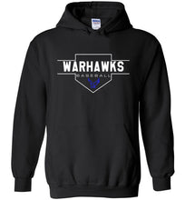 Load image into Gallery viewer, Warhawks Plate Hooded Sweatshirt