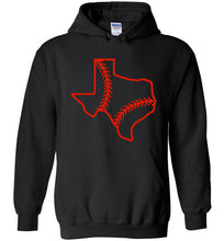 Load image into Gallery viewer, Texas Baseball Hoodie