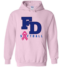 Load image into Gallery viewer, FD Softball BC Awareness Hoodie