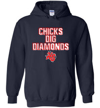 Load image into Gallery viewer, HotShots Dig Diamonds Hoodie