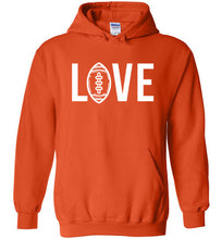 Load image into Gallery viewer, Love Football Hoodie