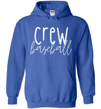 Load image into Gallery viewer, Crew Thin Script Hoodie