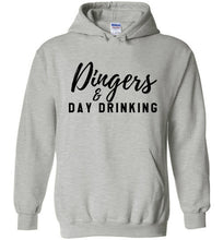 Load image into Gallery viewer, Dingers & Day Drinking Hoodie