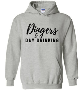 Dingers & Day Drinking Hoodie