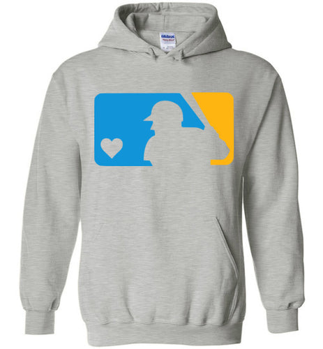 Custom Colors Love Baseball Hoodie